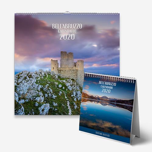 Calendari con gli splendidi paesaggi d'Abruzzo