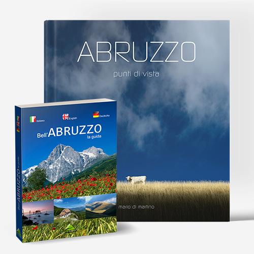 Volume fotografico e guida turistica dell'Abruzzo