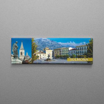 Calamita Sulmona, Piazza Garibaldi e Monumento Ovidio
