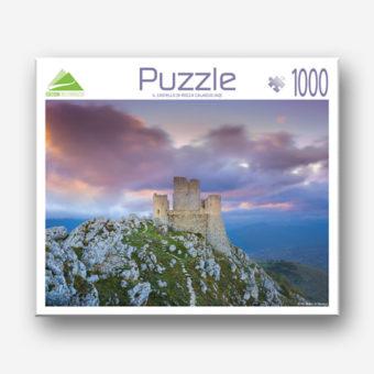 Il puzzle del Castello di Rocca Calascio in Abruzzo