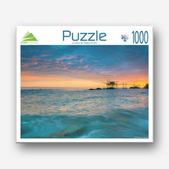 Puzzle della costa dei trabocchi in abruzzo
