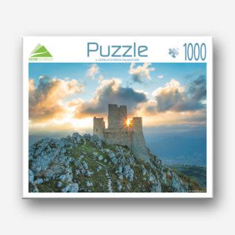 Il puzzle di Rocca Calascio all'Alba