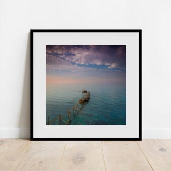Stampa fotografica del Trabocco di Punta Aderci
