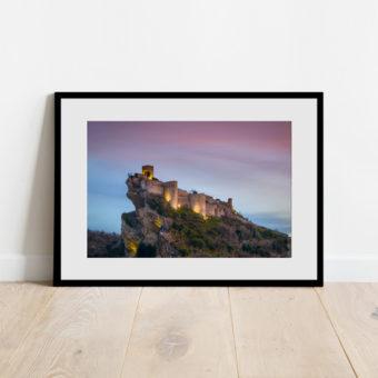 Stampa del Castello di Roccascalegna