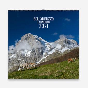 Calendario 2021 Abruzzo, copertina