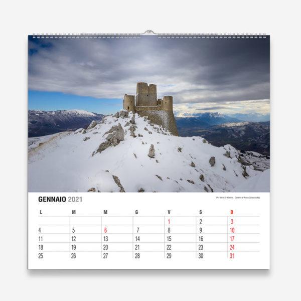 Calendario 2021 Abruzzo   La Bellezza dell'Abruzzo tutto l'anno!